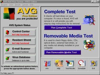 avg basic free edition